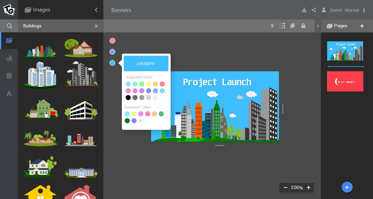 Intutive Image Designer