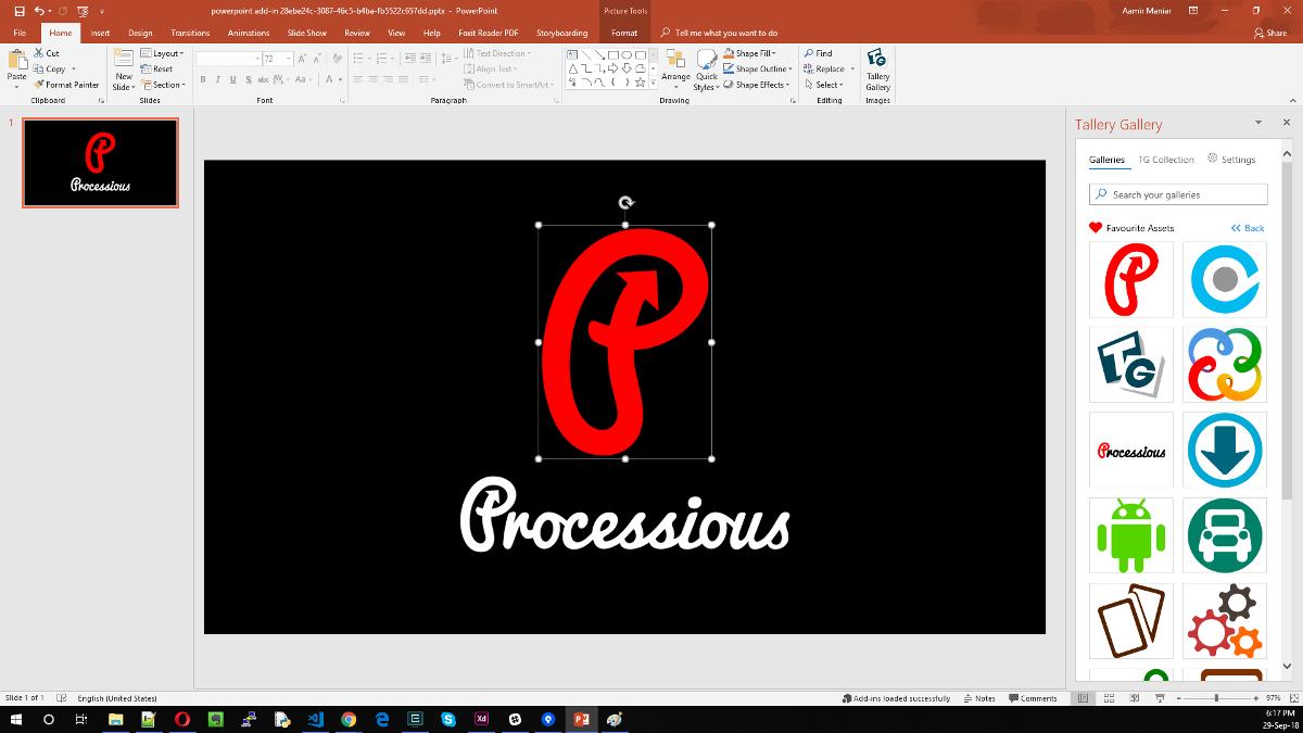 MS Powerpoint Addons